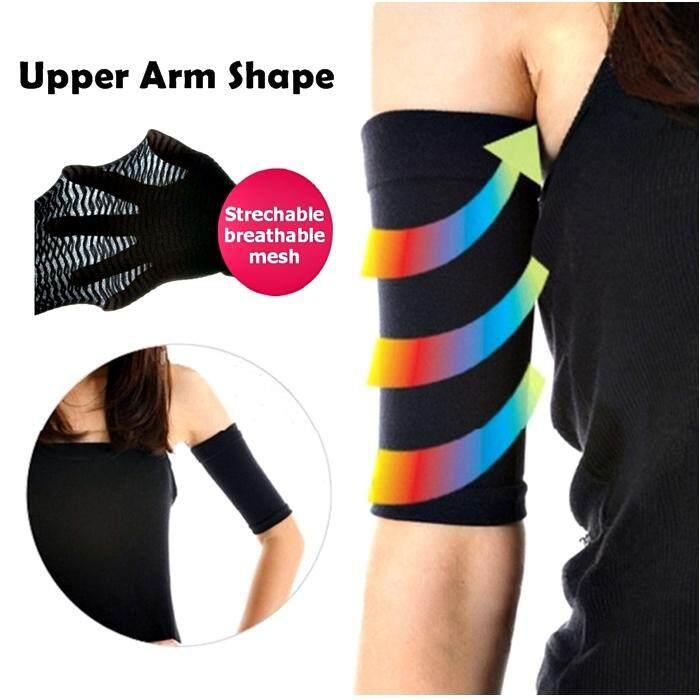 deb2a562c0 MALAYSIA STOCK- SEPASANG KORSET KURUSKAN BENTUK LENGAN Upper Arm Slimming  Shaper Slimmers Wrap Belts Elastic