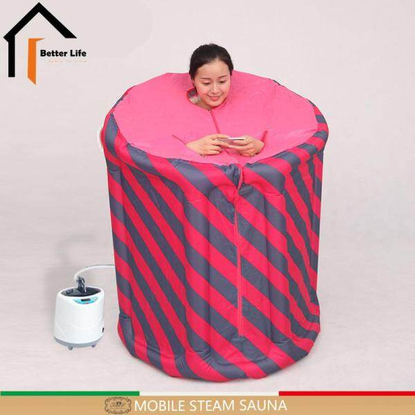 Buy Dream Best~Steam Sauna Portable Inflatable indoor Steam Beneficial skin sauna suits for weight loss Home Sauna Rooms bath SPA Singapore