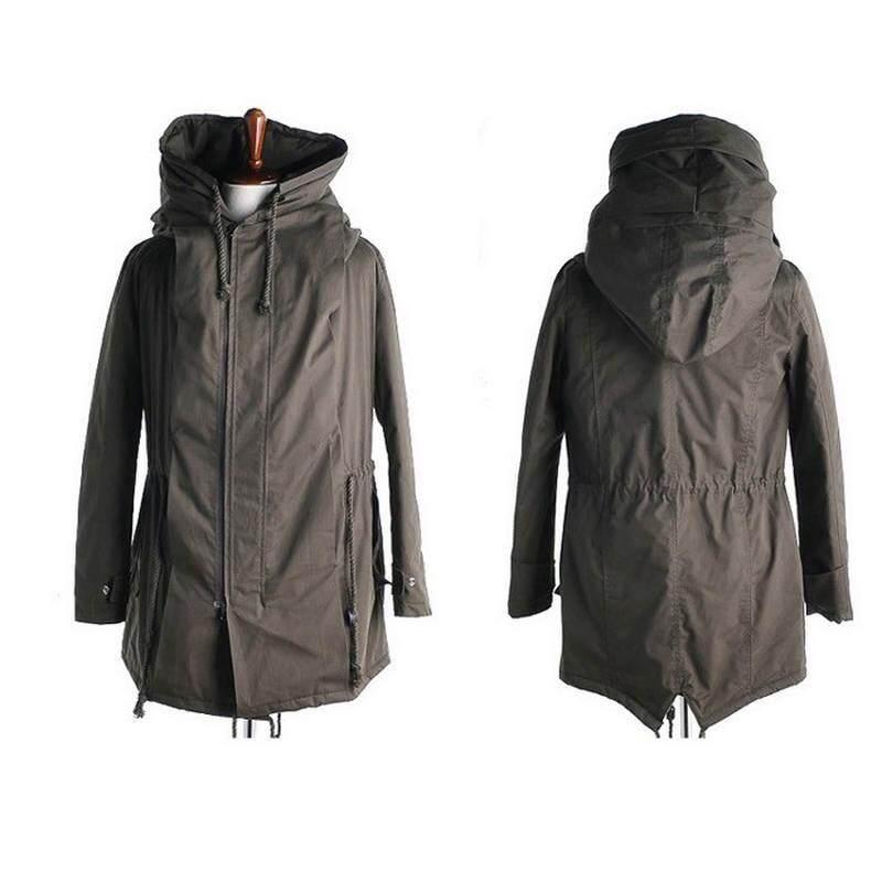 8cd460c1402 Army Clothes Windbreaker Military Field Jackets Mens Winter Autumn  Waterproof Flight Pilot Coat Hoodie Three