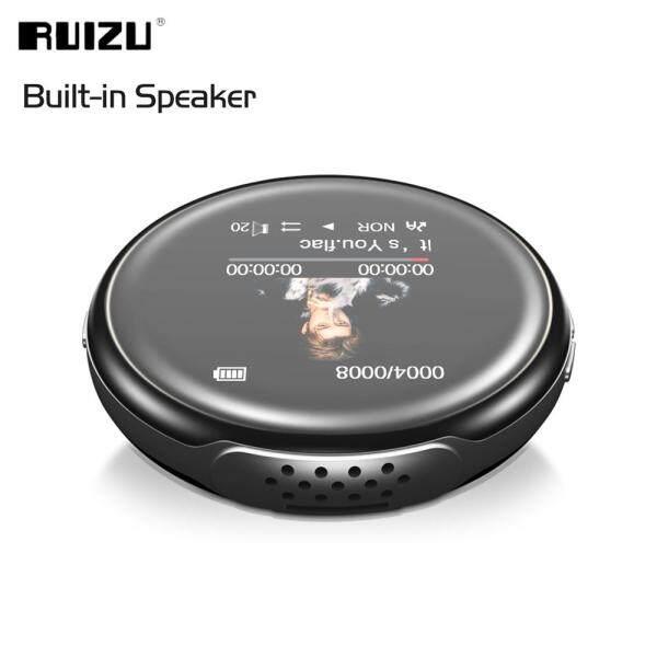 Máy Nghe Nhạc MP3 RUIZU M1, Kết Nối Bluetooth, Âm Thanh Di Động 8GB, Có Loa, Đài FM-Book