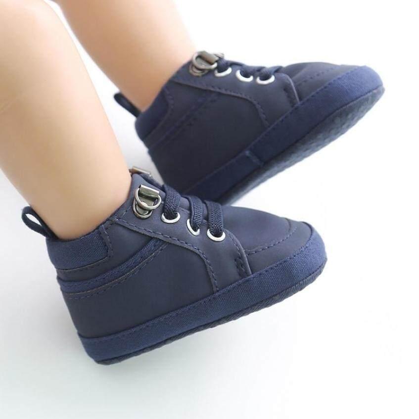 Giày Bé Trai Sơ Sinh Bông Mềm Giày Sneaker Đi Trong Cũi Thể Thao Giày Cho Trẻ Mới Biết Đi Ấm Tập Đi Trong 0-18 Tháng giá rẻ