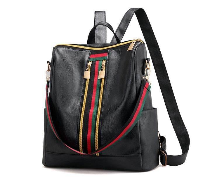4ea44fe87b Korean Style PU Leather Shoulder Backpack Women Bag (GRB) handbag woman s