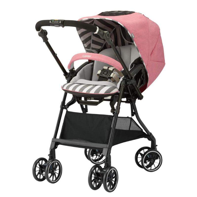 Combi white label stroller Sugokaru α 4 Cass compact Egg shock HS SG standard conformity baby pink one month - Singapore