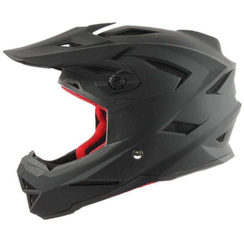 Topi Keras Sepeda Profesional Off-Road Helm Sepeda Gunung Menurun Helm Gunung Turun Lembah Helm