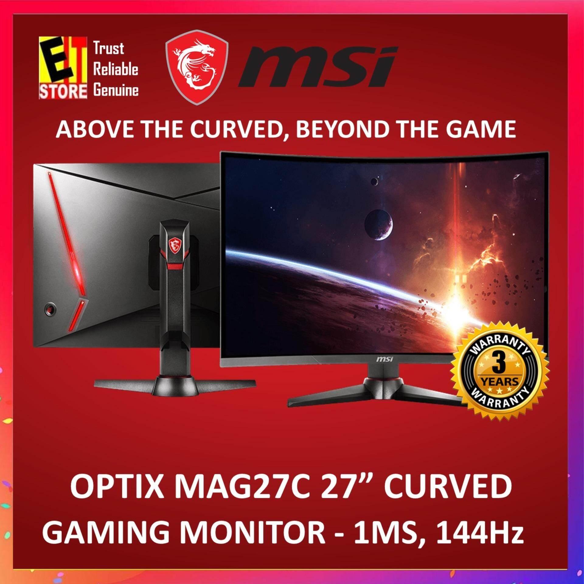 MSI OPTIX MAG27C 27 CURVE LED MONITOR 1920X1080,DVI,HDMI Malaysia