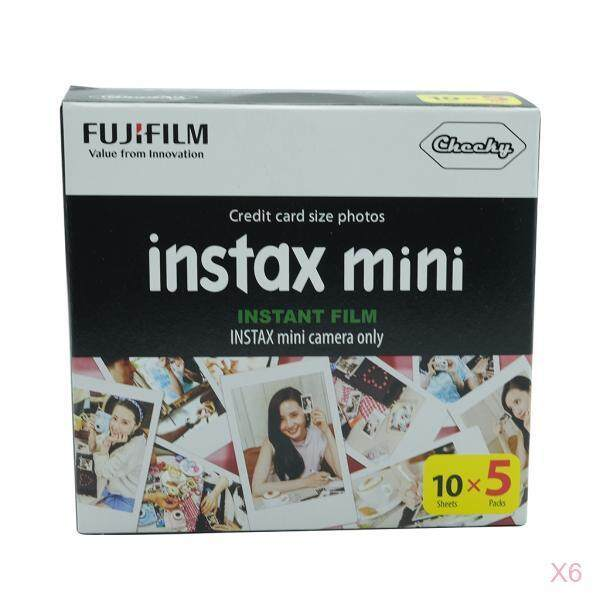 HILABEE Mini Film White 300 Sheet For Fuji Instax Instant Camera Photo Film Paper