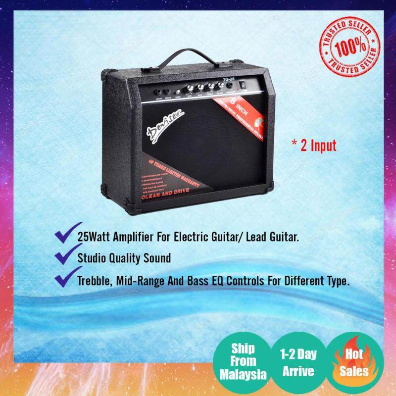 Lead Guitar Amp/ Electric Guitar Amplifier 25W TG25 Malaysia