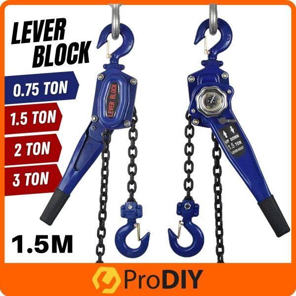 3 Ton x 1.5m Lever Block Chain Hoist Hand Operated Lever block Manual Chain Hoist