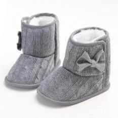 0-18 Months Newborn Baby Toddler Infant Boy Girl Winter Warm Plush Snow Boots Crib