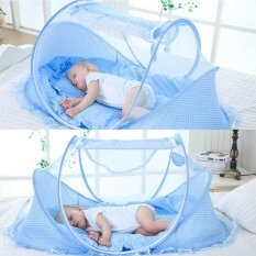 0-3 Years Baby Crib Mosquito Net Foldable Bed Cotton Sleep Travel Beds Cribs Netting