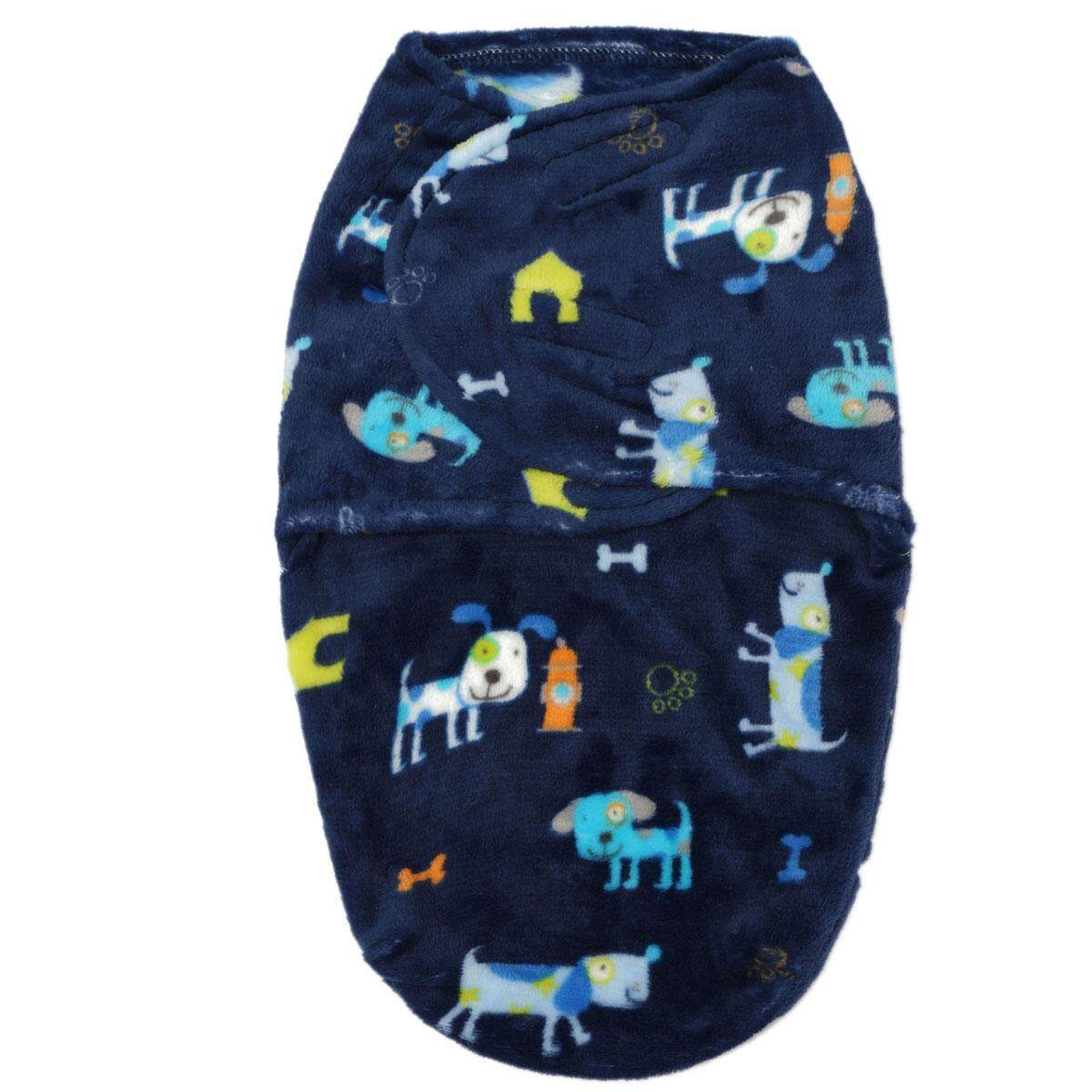 0-6months Newborn Swaddle Wrap Warm Blanket Baby Infant Soft Fleece Sleeping Bag - Intl By Autoleader.