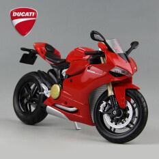 1/12 Ducati 1199 Panigale Diecast Motorcycle Sport Bike Model Red – intl