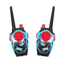 Redcolourful 1 Pairs Of Kids Mini Cartoon Wireless Long Range Walkie Talkie Parent-Child Toy By Hiquuen.