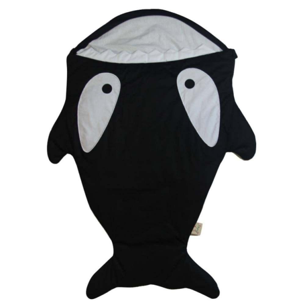 1 Pc Baby Sleeping Bag Cute Cartoon Shark Winter Kid Sleep Sack Infant Warm Swaddle (