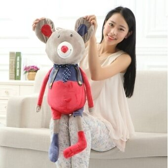 1 Pcs 60 Cm Stuffed Mewah Mainan Lucu Lembut Kuku Gajah Mouse Rabbit Beruang Hadiah Berkualitas Tinggi Bebas ShippingYZT0004- internasional