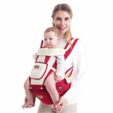 10 in 1 Multi-Functional Baby Hip Seat Carrier Breathable mesh cloth material Adjustable Shoulders