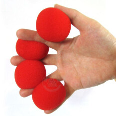 10 Pcs Fashion New Magic Trick Sponge Balls Red Supper Soft 2 Inch 10 Red Ballst U222 By Crazy Store.