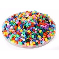 1000pcs 5mm Hama/perler Beads Toy Kids Fun Craft Diy Handmaking Fuse Bead Multicolor Creative Intelligence Educational Toys By Super Price Mall.