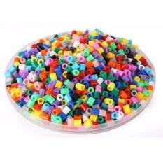 1000pcs 5mm Hama/perler Beads Toy Kids Fun Craft Diy Handmaking Fuse Bead Multicolor Creative Intelligence Educational Toys By Super Price Mall.