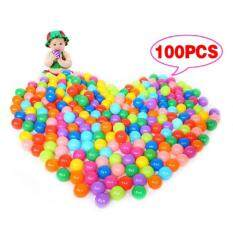 100pcs Ocean Wave Ball Children Park Color Ball Thick Naughty Fortball Softball By Poruis.