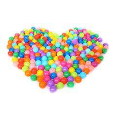 100pcs/lot Eco-Friendly Colorful Soft Plastic Water Pool Ocean Wave Ball Baby Funny Toys Stress Air Ball Outdoor Fun Sports Gift By Kits Mall.