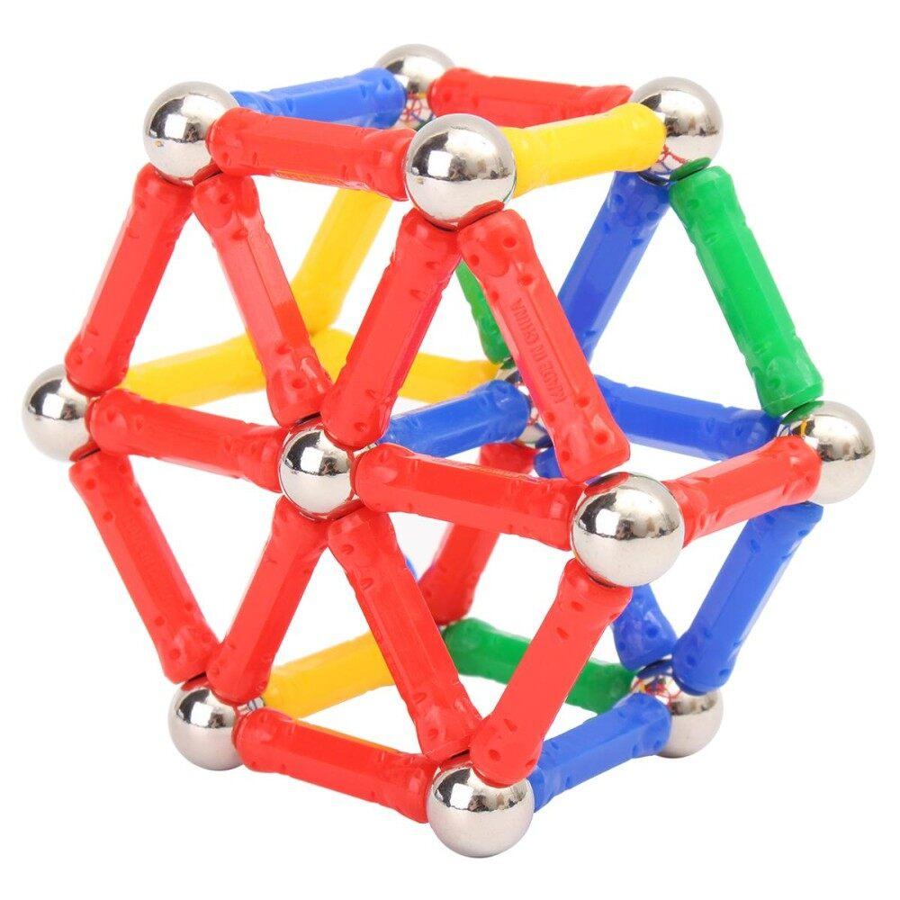Hình ảnh 103PCS Magnetic Bricks Building Blocks Kids Children Educational Toys Set Gifts - intl