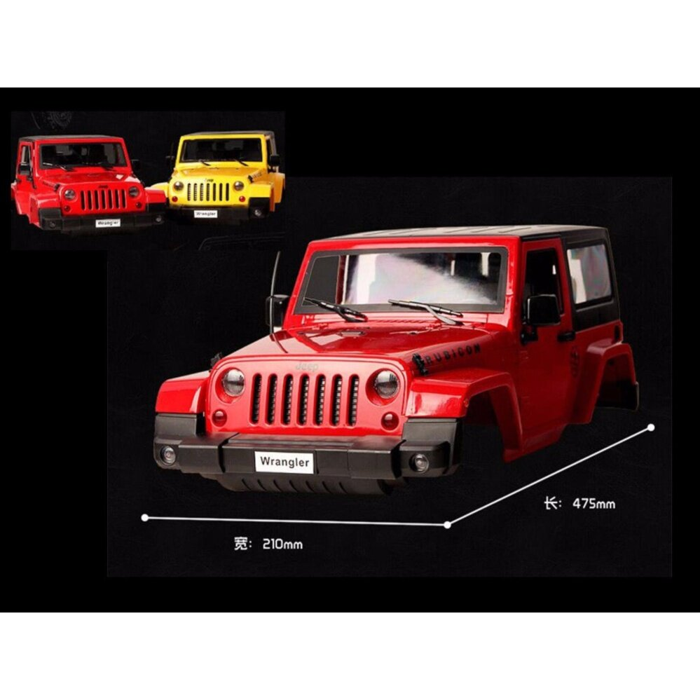 Hotwheels 15 Land Rover Defender Double Cab Hijau Toko Indonesia Perbandingan Harga Remote Control Vehicles 110 Rc Model Plastic Modified Body Shell Wrangler Crawler Car Yellow Intl