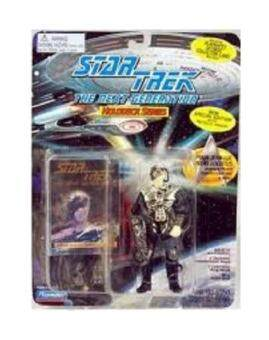 11cm Captain Jean-Luc Picard As Locutus, Jean-Luc Picard Transformed Into a Borg - New with Metallic Armour! - Star Trek: The Next Generation Holodeck Series [Special Edition] - intl