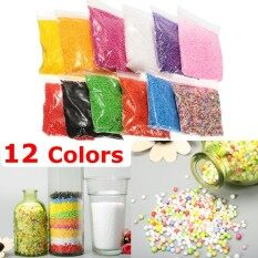12 Pack Styrofoam Foam Ball Filler Mini Beads Diy Craft Kids Toy 12 Colors By Teamwin.