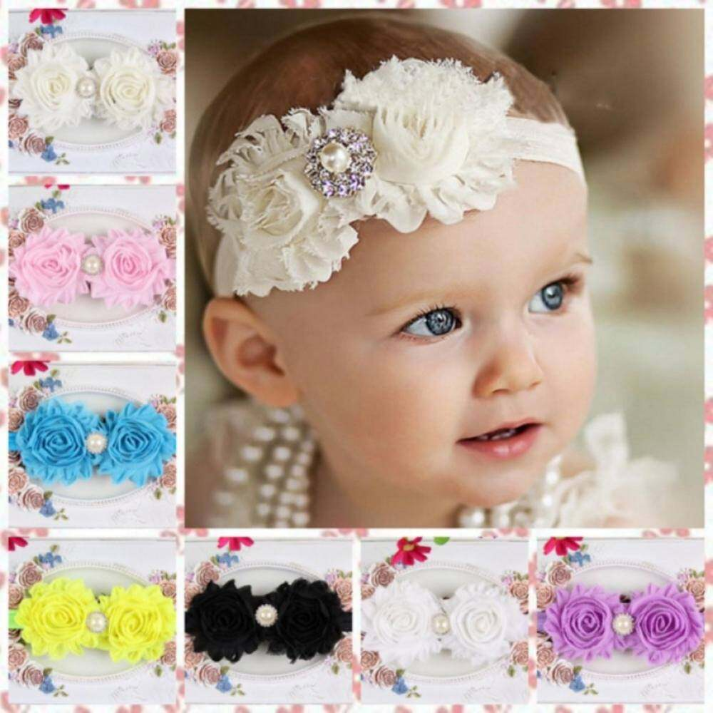 Girls hair clips and bands for sale girls hair accessories online 2018new baby store12pcs lovely princess headband baby girl hair accessories infant elastic hair bands newborn baby izmirmasajfo