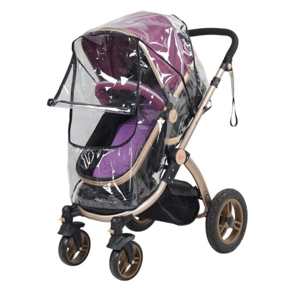1 Cái tấm phủ nhựa pvc cho xe đẩy em bé chống thấm nước bảo vệ cho trẻ - INTL - Hàng quốc tế Lưu ý thời gian giao hàng dự kiến thumbnail