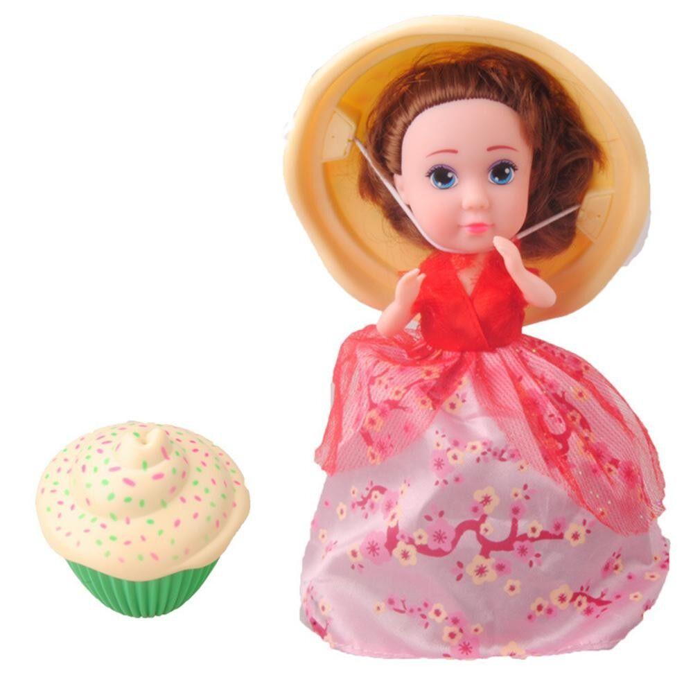 Kue Mini Mainan Boneka Kejutan Cupcake Putri Trolley Boneka Gadis Mainan  Cantik Hadiah Ulang Tahun. IDR 92 ce18a2fc34