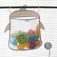 Home Storage & Organization Smart Bathroom Mesh Bag Baby Kids Basket Net Cartoon Animal Shapes Waterproof Cloth Sand Toys Beach Storage