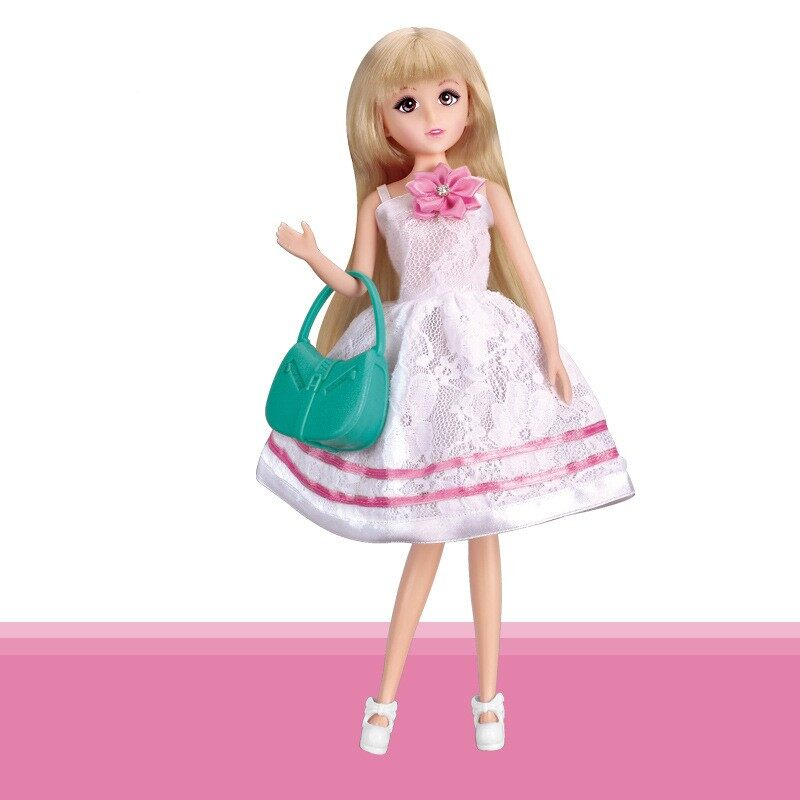 1 Pcs set Lelia H30C Kualitas Barang Boneka Barbie Fashion Girl Cocok  Sebagai Hadiah Rumah 2c5c5e8402