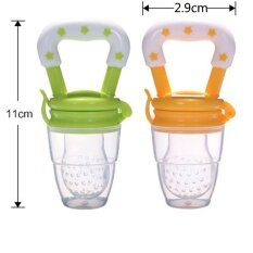 [2 Pack] Q-Shop Pancreas Puller Silicone Pacifier Baby Pacifier Bite Bite Music(color Random) By Q-Shop.