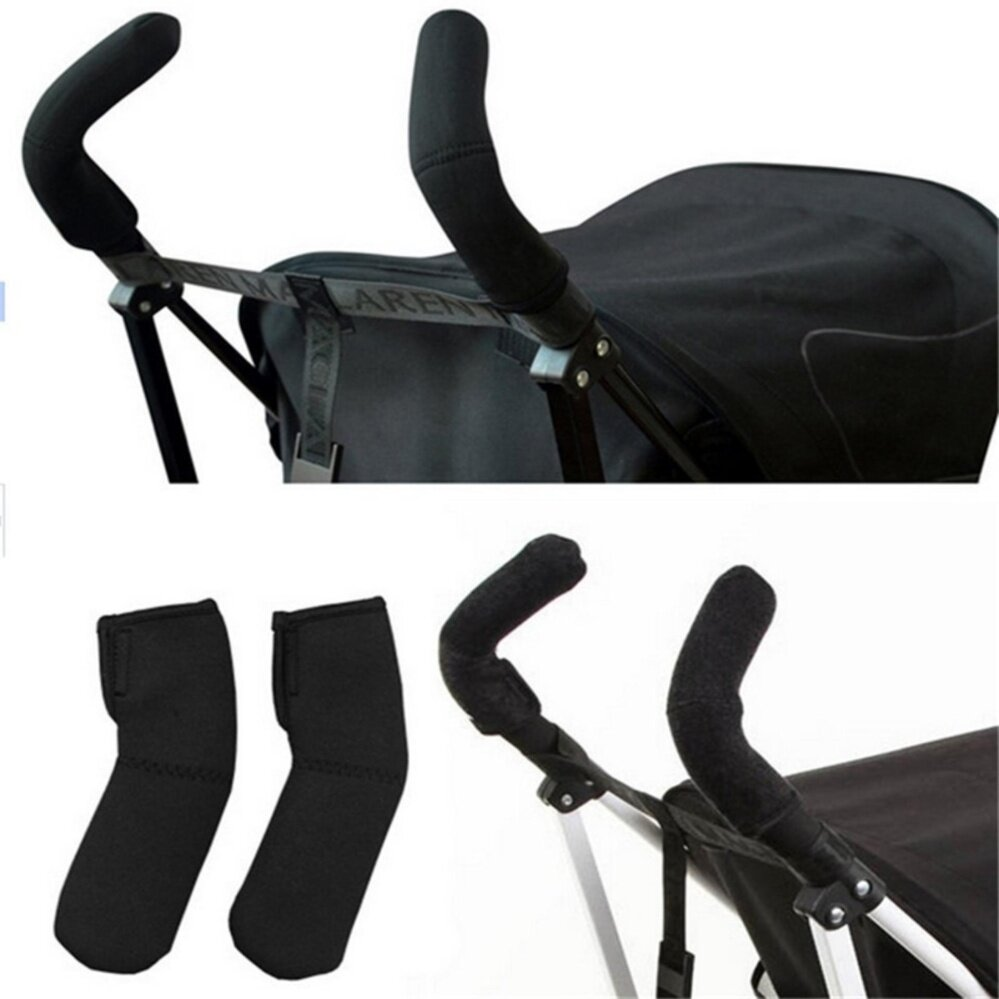 2 Pcs Lot Baby Stroller Grip Cover Carriages Handle Protector Accessories