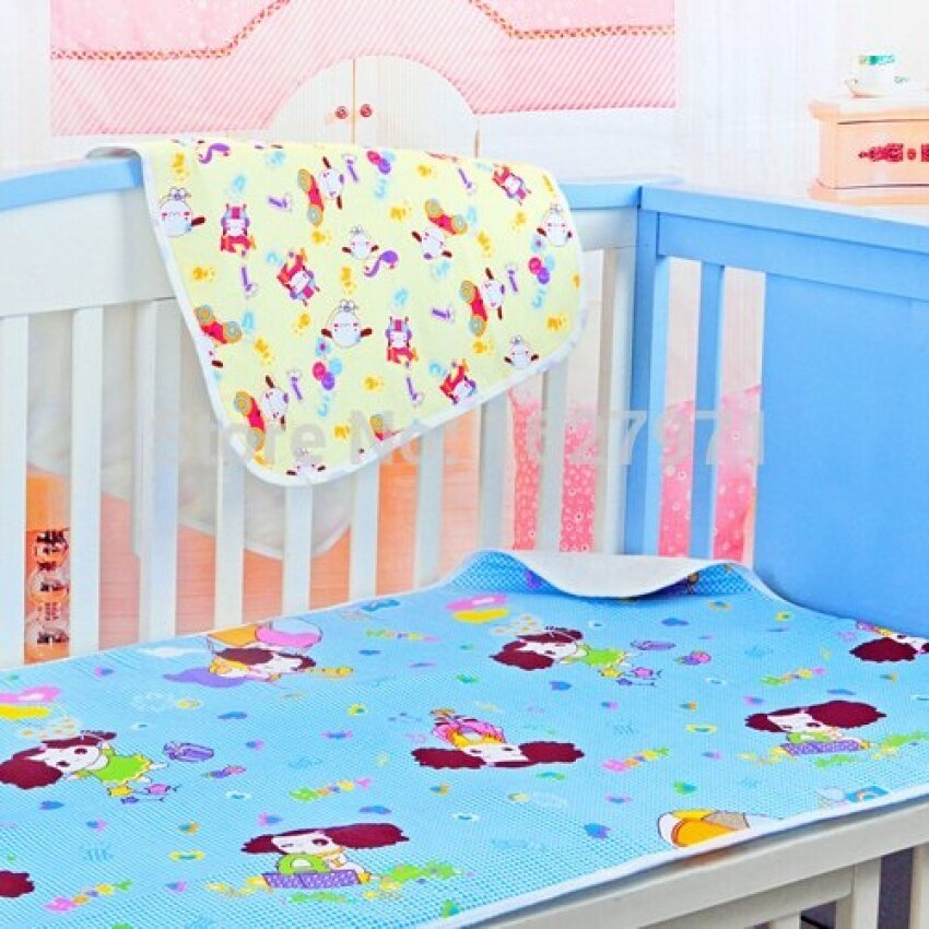 2016 Bedding Sets 100% Cotton Waterproof Baby Diapers MattressCloth Diapers For Newborns Protector 59x76cm Bedding Sets H