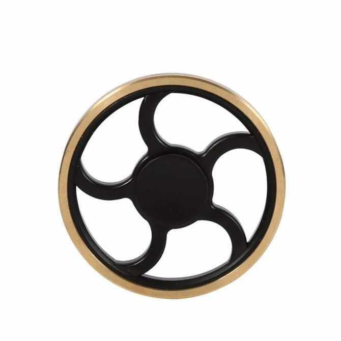 2017 Terbaru Pengemudian Roda Berbentuk Tangan Jari Spinner Anti-Anxiety 360 Spinner Membantu Memfokuskan Mainan