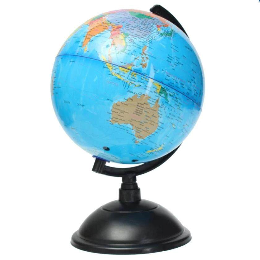 Geography puzzle toys for sale geography toys online brands 21cm blue ocean world globe map with swivel stand geography educational toy gift intl gumiabroncs Gallery