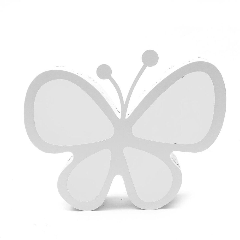 220v 24w Acrylic Led Butterfly Ceiling Lamp Pendant Light Kid Bedroom Xmas Decor  Three-Color Dimming - Intl By Elec Mall.