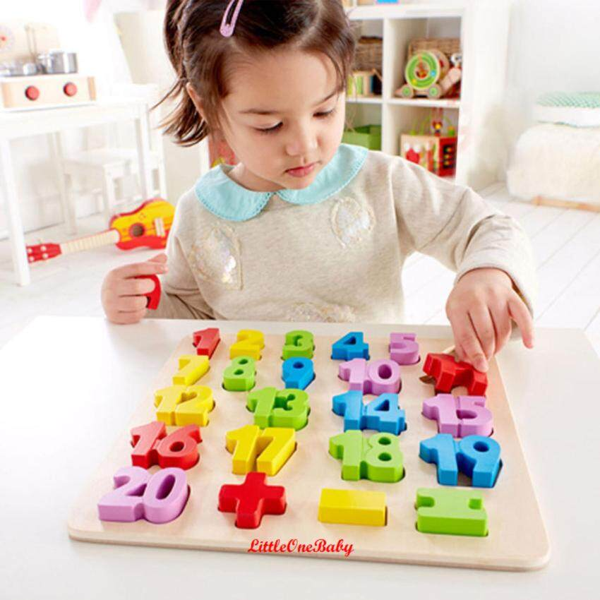23pcs Wooden 0-20 Numbers Early Learning Toy / NUMBER PUZZLE / Preschool Learning Educational Toy Gift BEST SELLER!