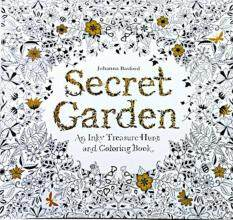 MYR 10 24 Pages Secret Garden English Version Decompression And Hand Painted Color Coloring Book