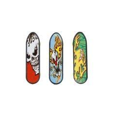 24 ชิ้น Fingerboards สเก็ตบอร์ดนิ้วกระดานสเกตบอร์ด 3.94 Mini เด็กเกมของเล่น.