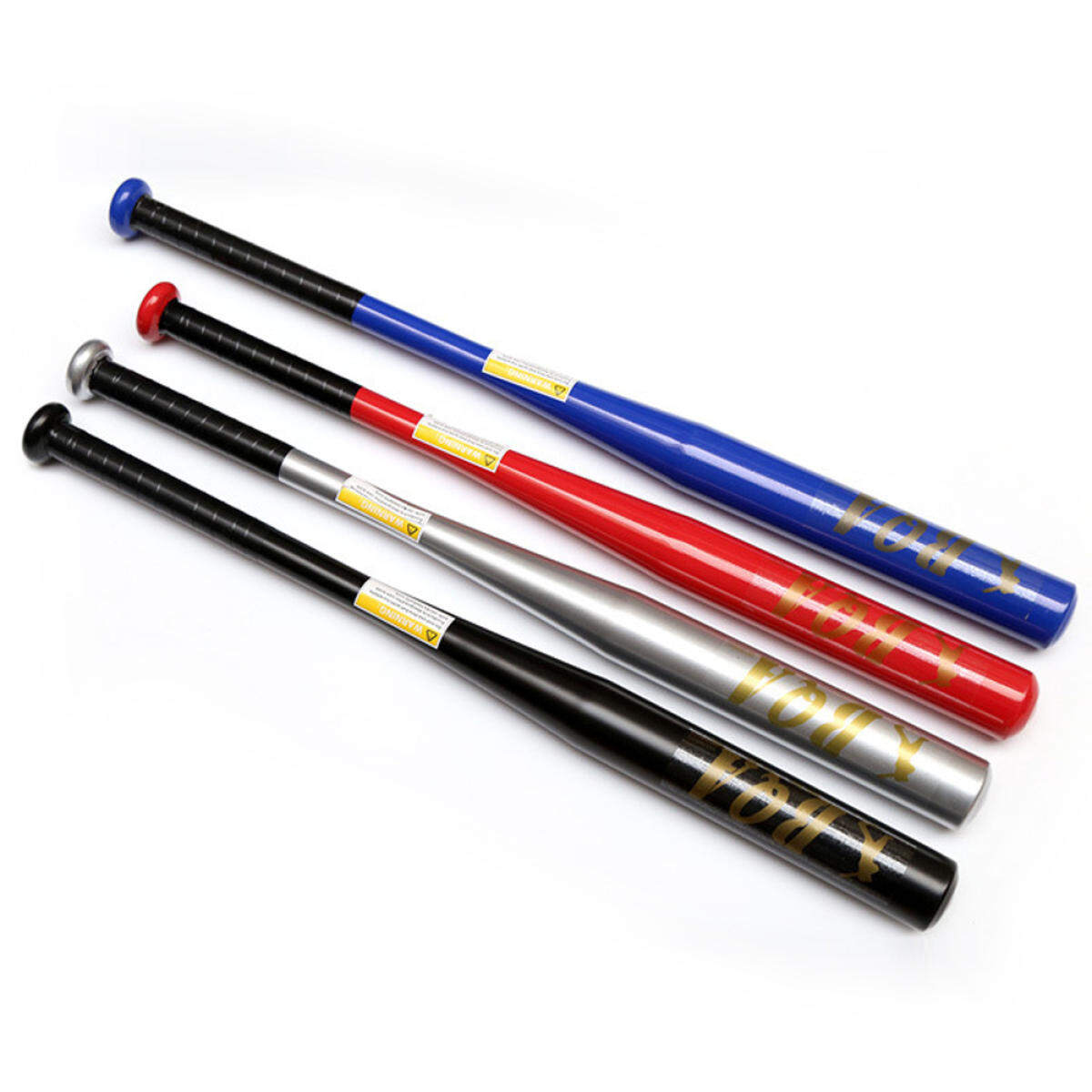 1pc 63cm Aluminum Alloy Baseball Color Bat Racket Random By Vjsgjva.