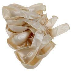 25 x 12 inch Latex  Wedding Balloons-White