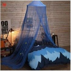 250*900*60cm Elegant Mosquito Net For Double Bed Canopy Insect Reject Net Circular Canopy Bed Curtains Mosquito Repellent Tent By Veecome.