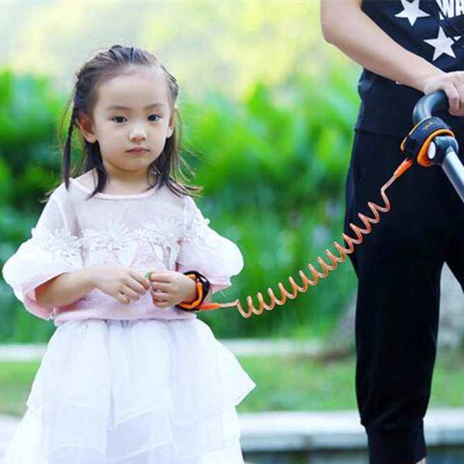 SoonYip Toddler Baby Kids Safety Harness Child Leash Anti Lost Wrist Link Traction Rope 2.5m