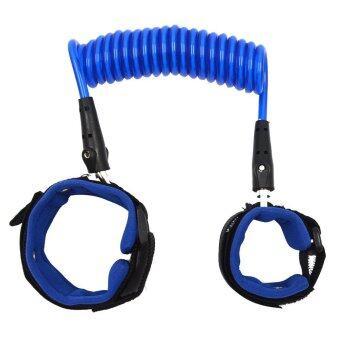 Paling murah 2.5Meters Baby Child Anti Lost Safety Hook Loop Fastener Wrist Link Rope Band