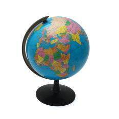 2pcs 32cm Rotating World Earth Globe Atlas Map Geography Education Toy Desktop Decor By Teamwin.