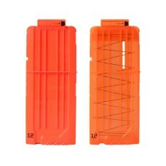【express Delivery】2pcs Bullet Clips Cartridge Holder Clip Hold For Foam Nerf Darts N-Strike Fun Gift (my) By Super Babyyy.